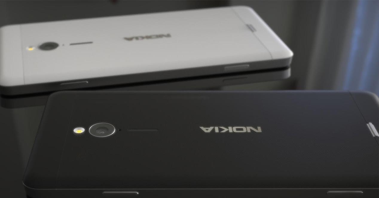 Smartphones de Nokia con Android