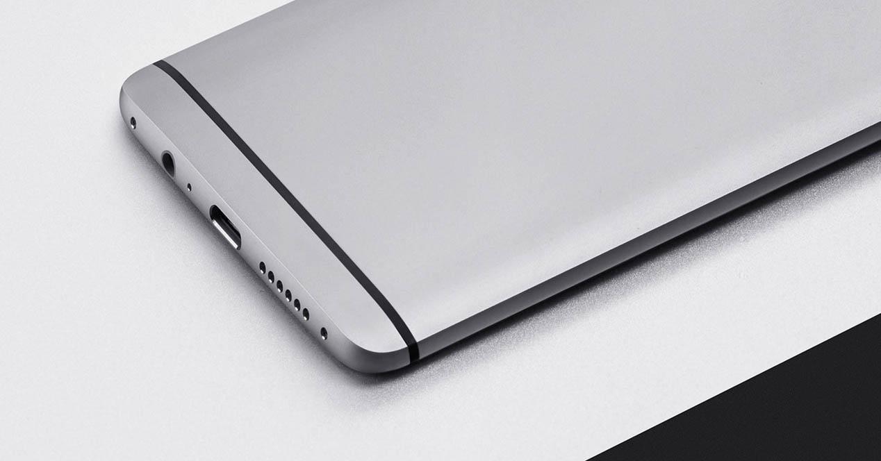 OnePlus 3 de color gris