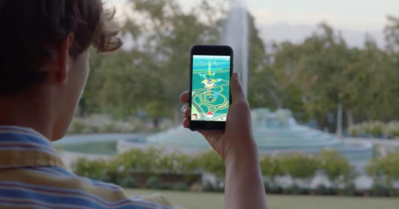 Jugador de Pokémon GO