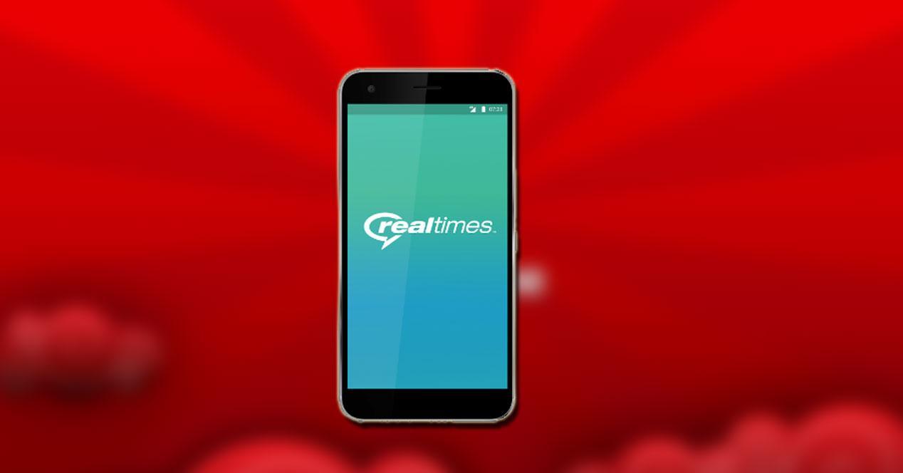 Vodafone Realtime en smartphone