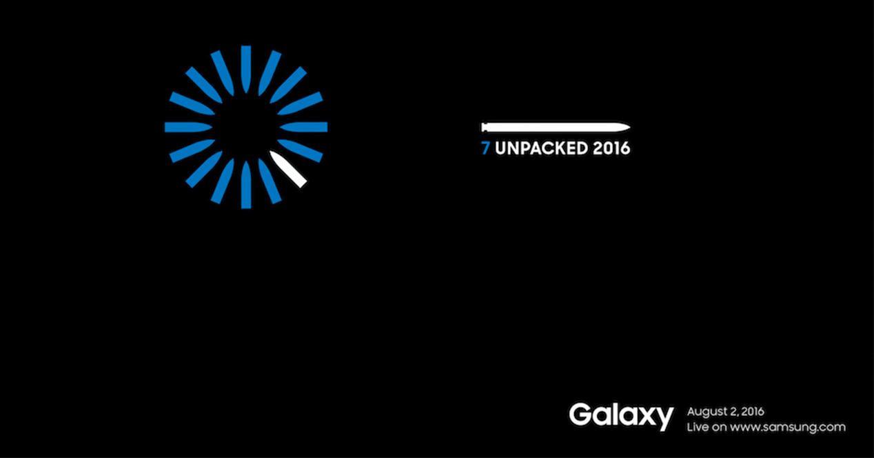 Presentación del Samsung Galaxy Note 7