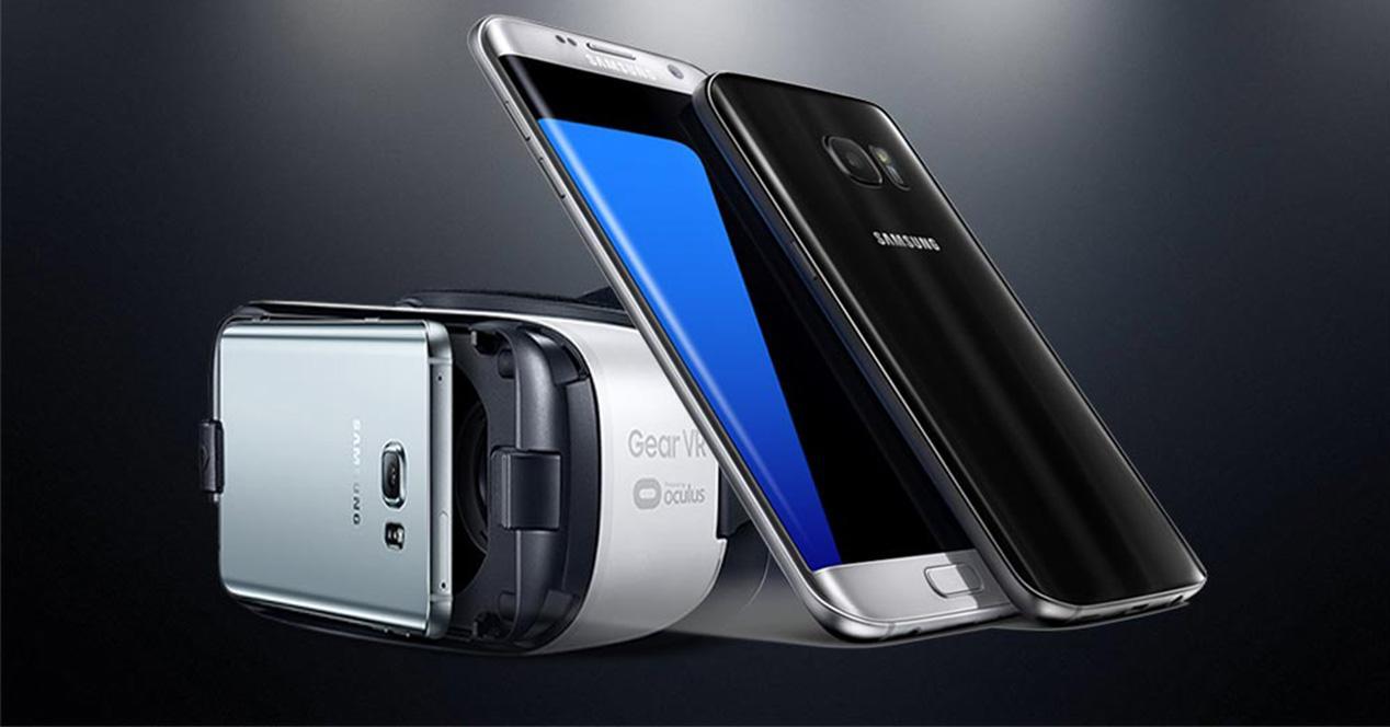 Gafas de realidad virtual para el Samsung Galaxy S7
