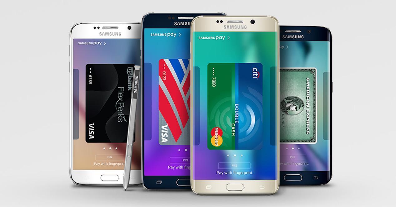 samsung pay en móviles samsung