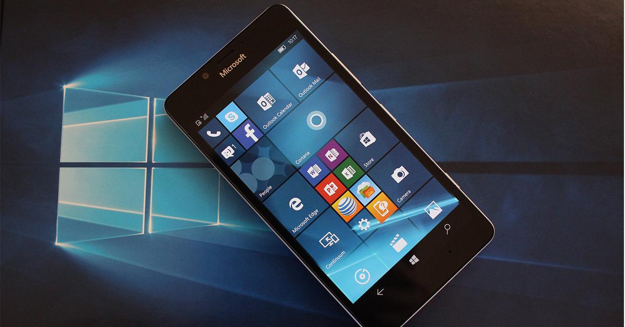 Smartphone con Windows Phone