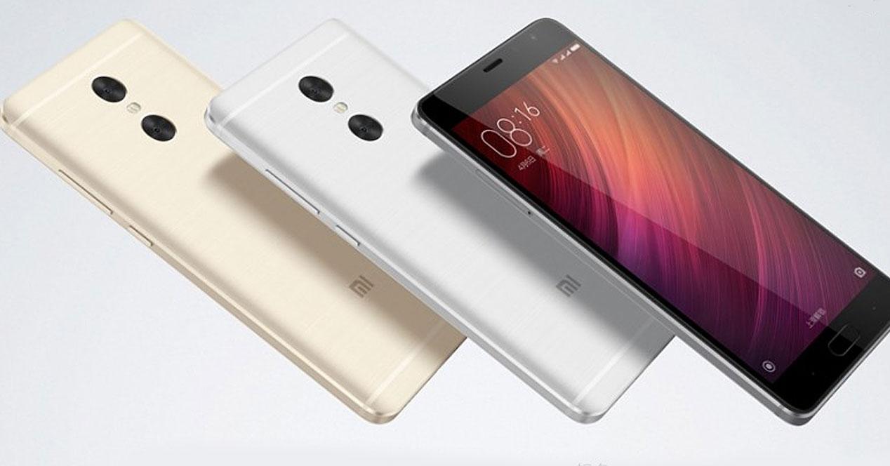 Colores del Xiaomi Redmi Pro