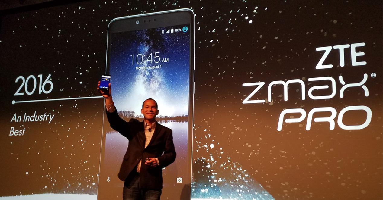 Presentación oficial del ZTE ZMAX PRO