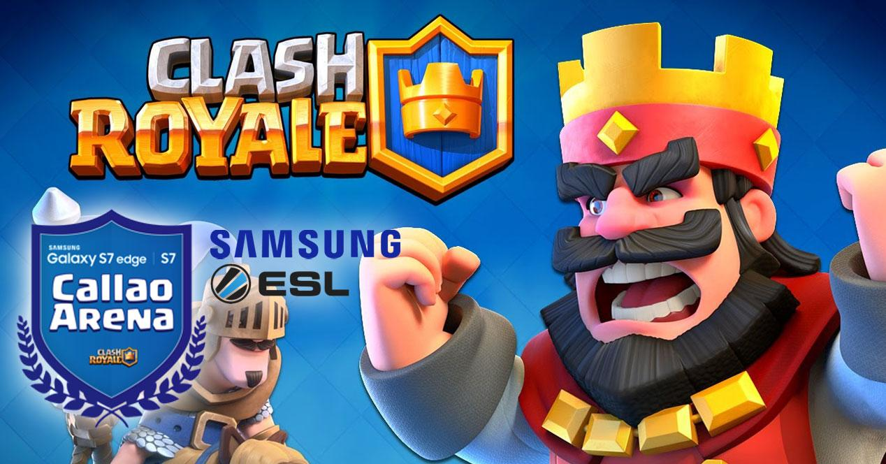 clash royale torneo samsung