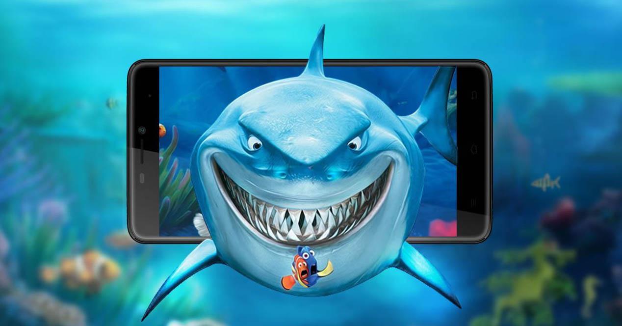 cubot max promo azul