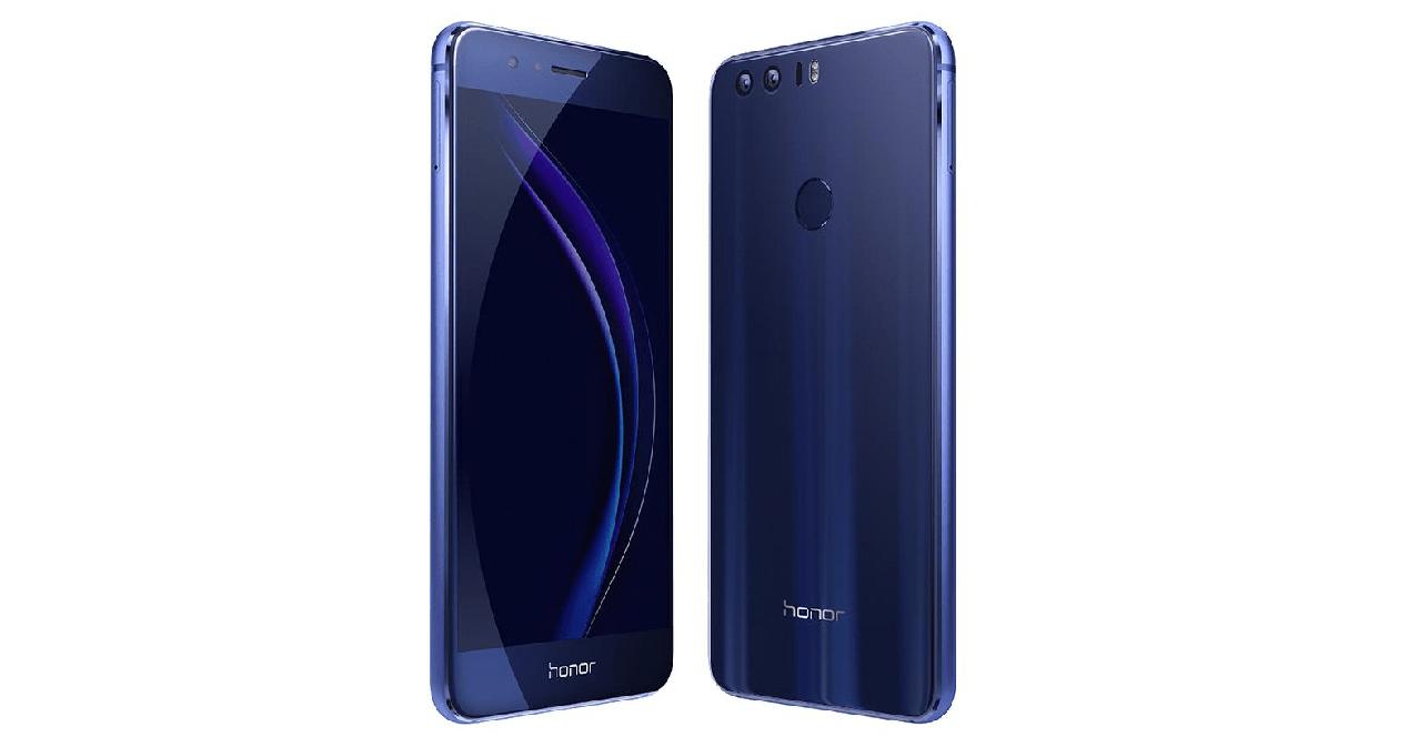 honor 8 de color azul
