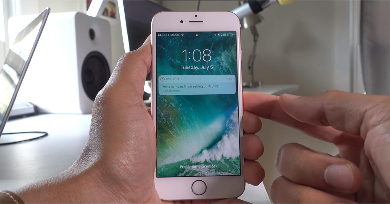 Cambios introducidos en iOS 10 Beta 2