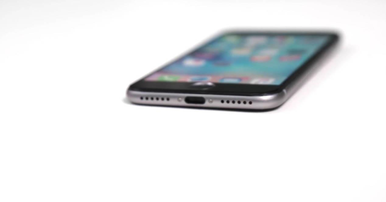 iphone 7 tumbado