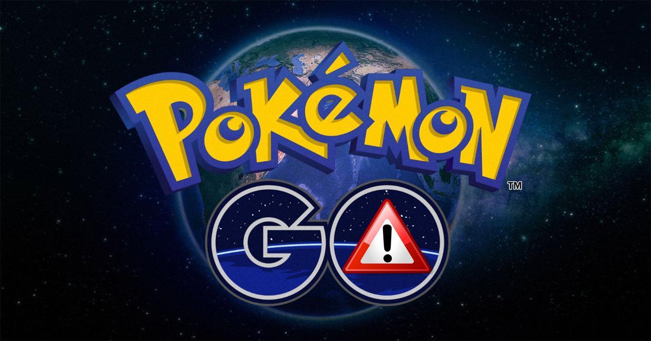 Pokémon GO con logo de malware