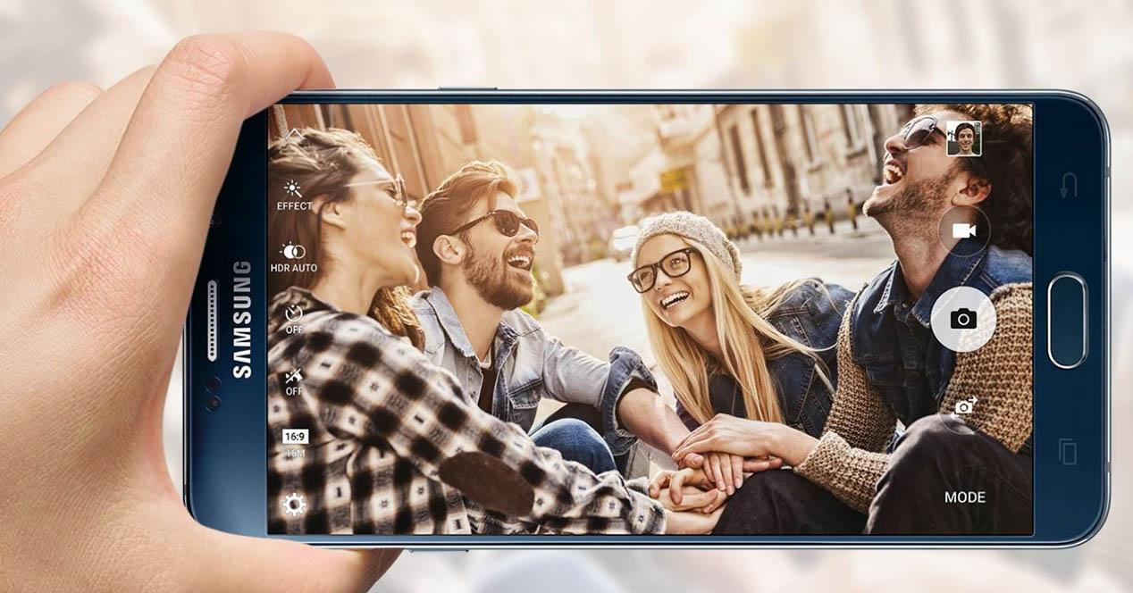 Samsung Galaxy Note 5 grabando video