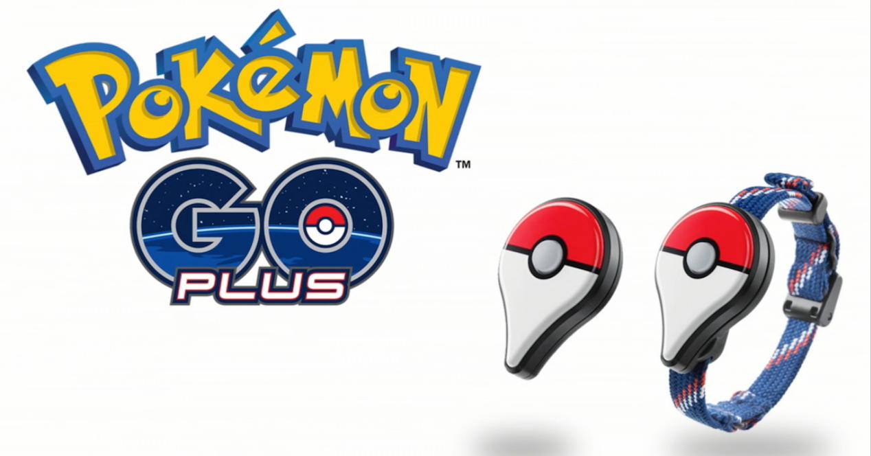 Pulsera pokémon go plus y logo pokemon go