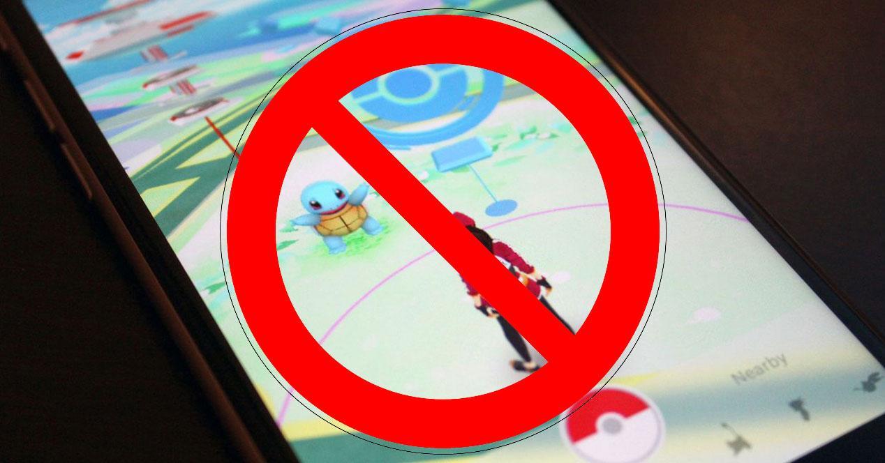 prohibido pokemon go