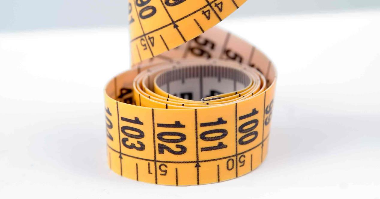 metro para medir talla