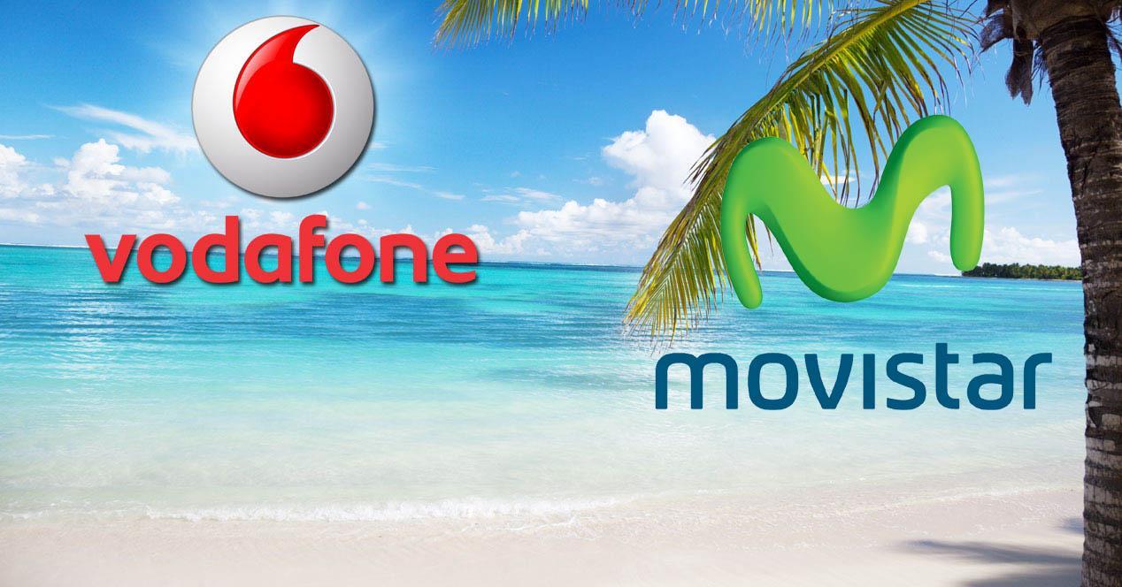 Movistar y Vodafone