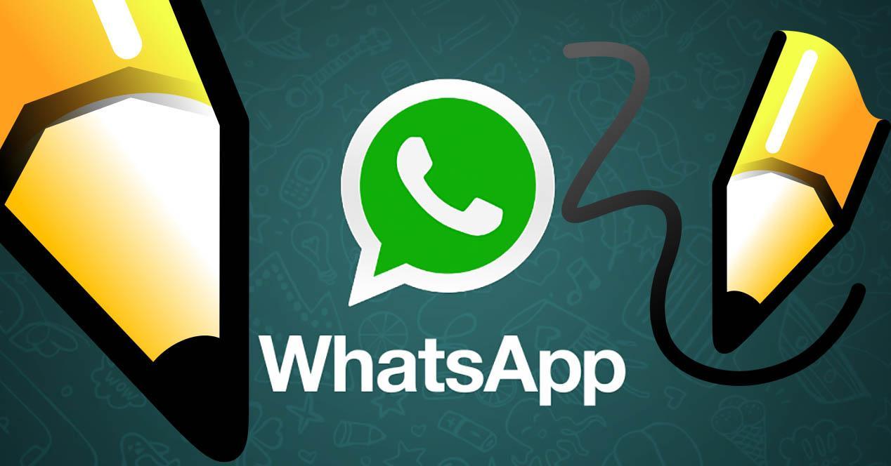 whatsapp funcion dibujar
