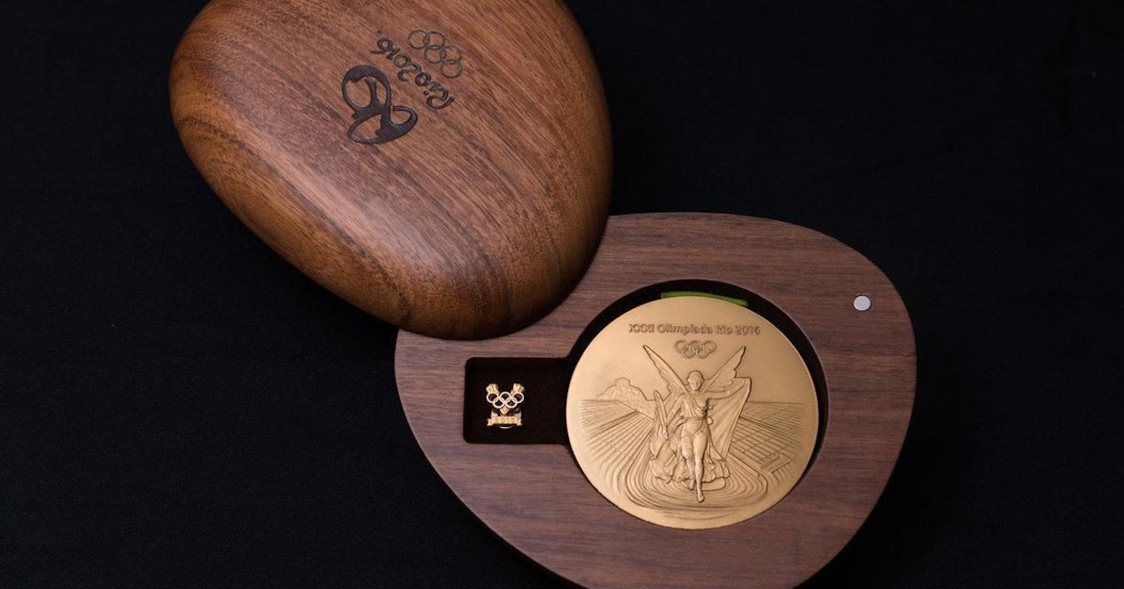 medalla oro rio