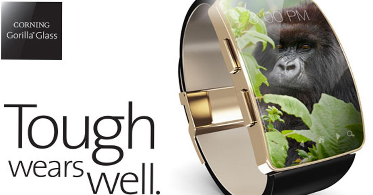 Cristal Gorilla Glass SR para smartwatches
