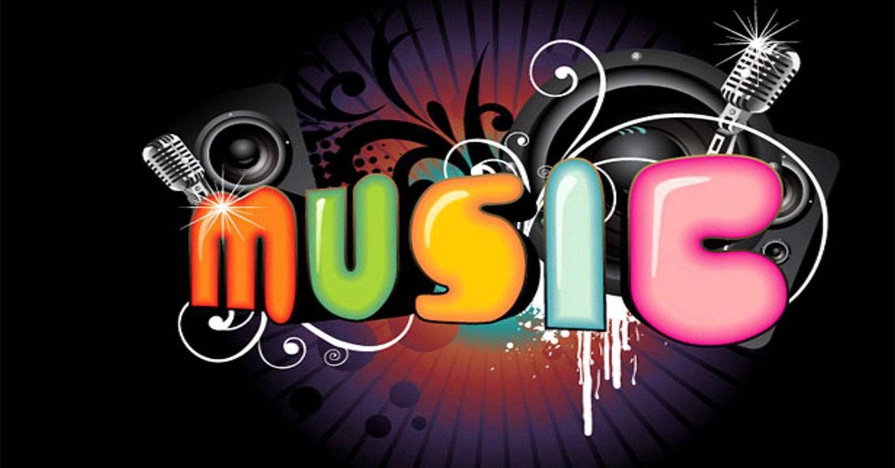 Musica en un smartphone