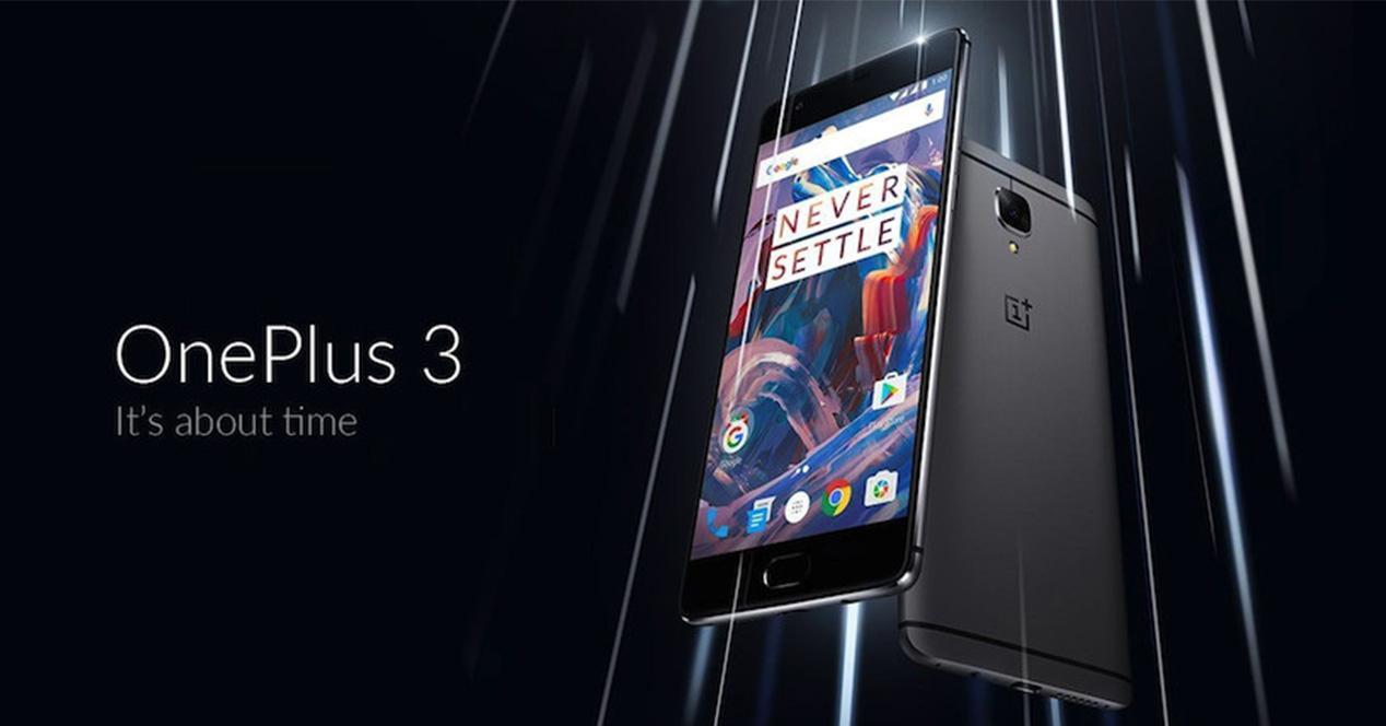 Actualización OTA para el OnePlus 3