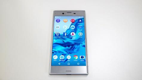 Sony Xperia plateado
