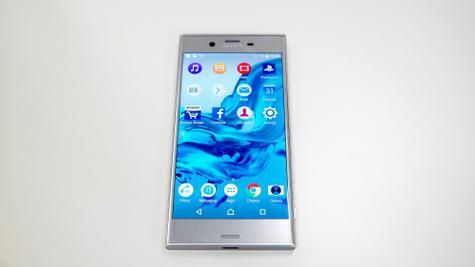 Sony Xperia XZ vista frontal