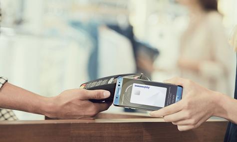 Samsung Galaxy Note 7 con Samsung Pay