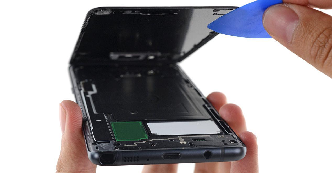 Desmontaje del Samsung Galaxy Note 7