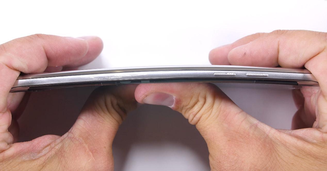 Resistencia de la carcasa del Samsung Galaxy Note 7