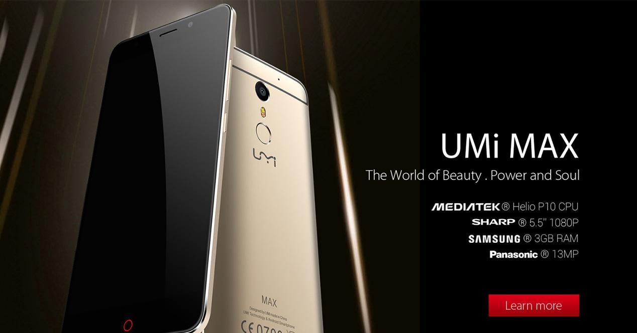 Presentación del UMi MAX