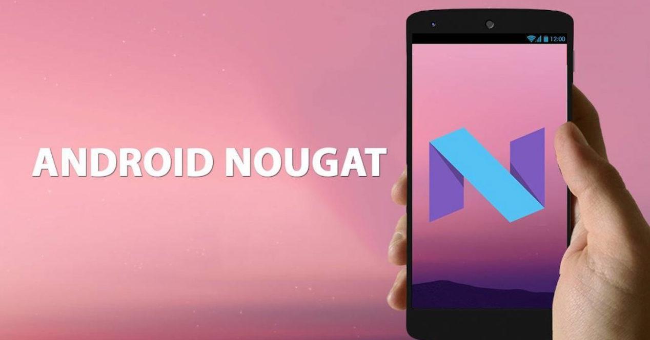android nougat en nexus
