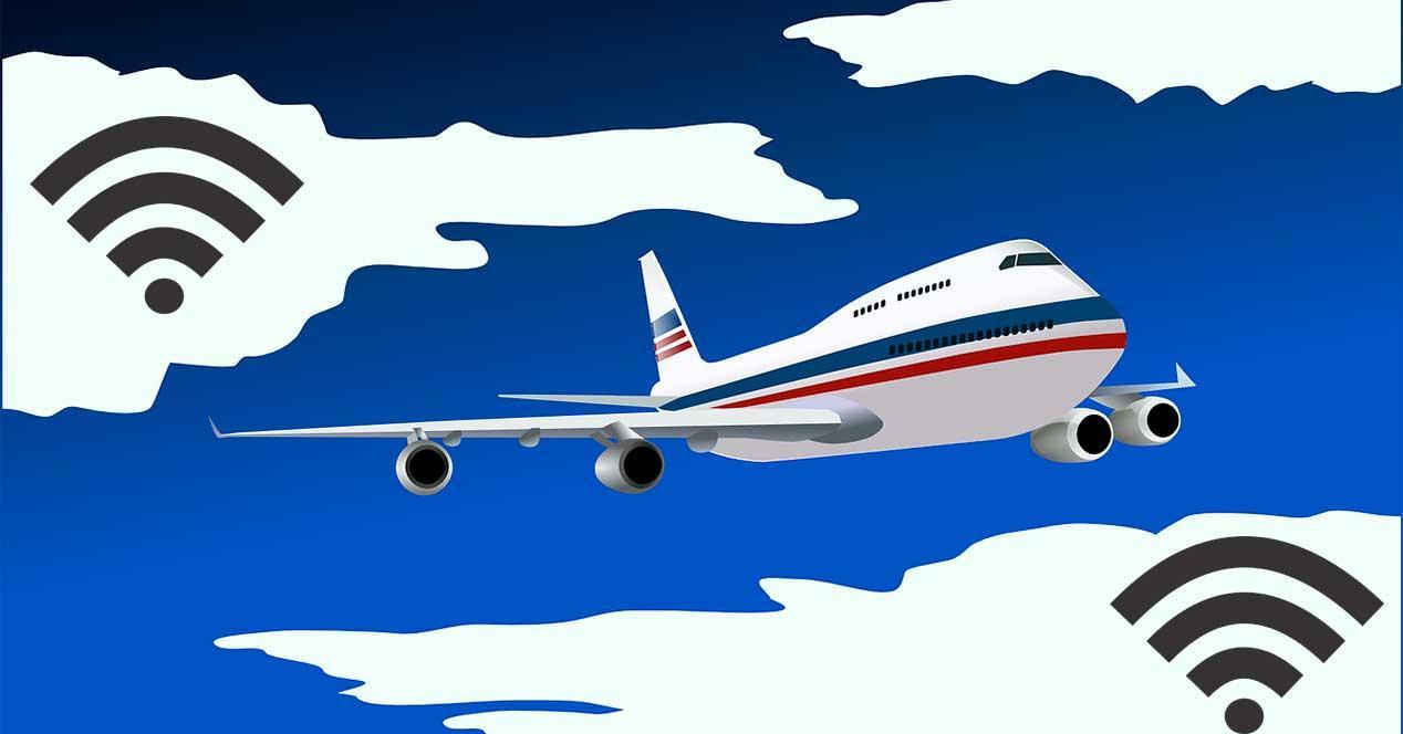 Aviones con Wifi