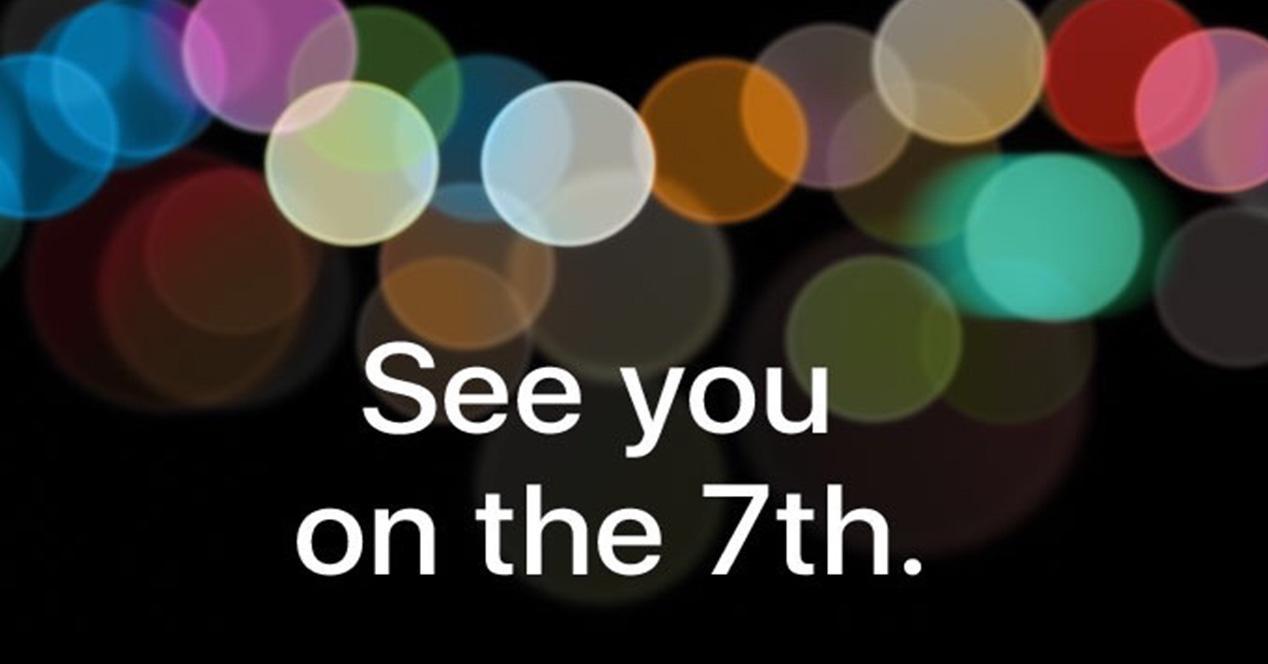 Presentacion del iPhone 7