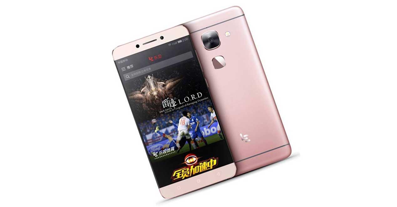 LeEco Le2 de color rosa