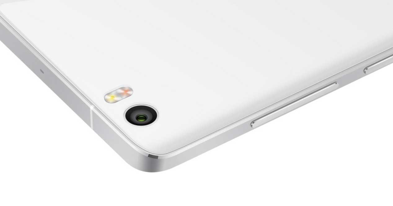 Xiaomi Mi Note de color blanco
