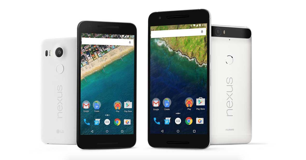 Nexus 5X y Nexus 6P