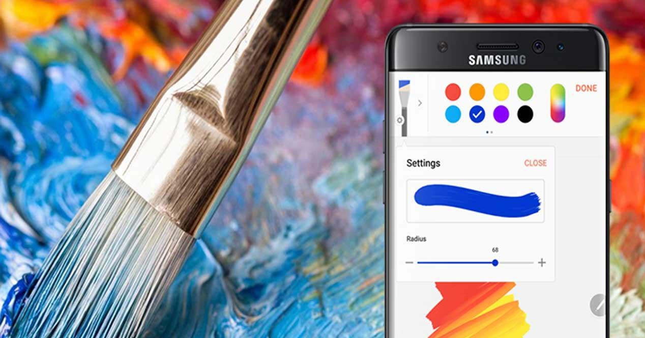 Notas en Samsung Galaxy Note 7