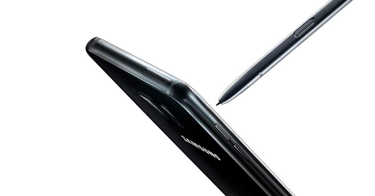 Galaxy Note 7 de color negro