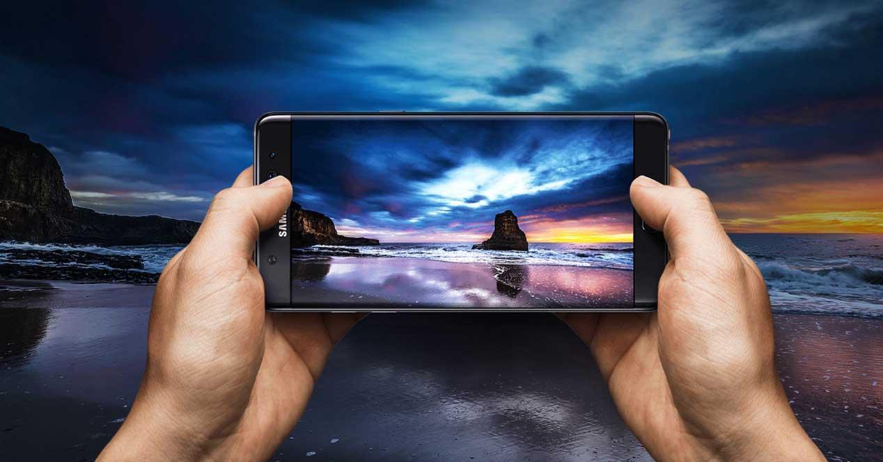 Samsung Galaxy Note 7 entre las manos