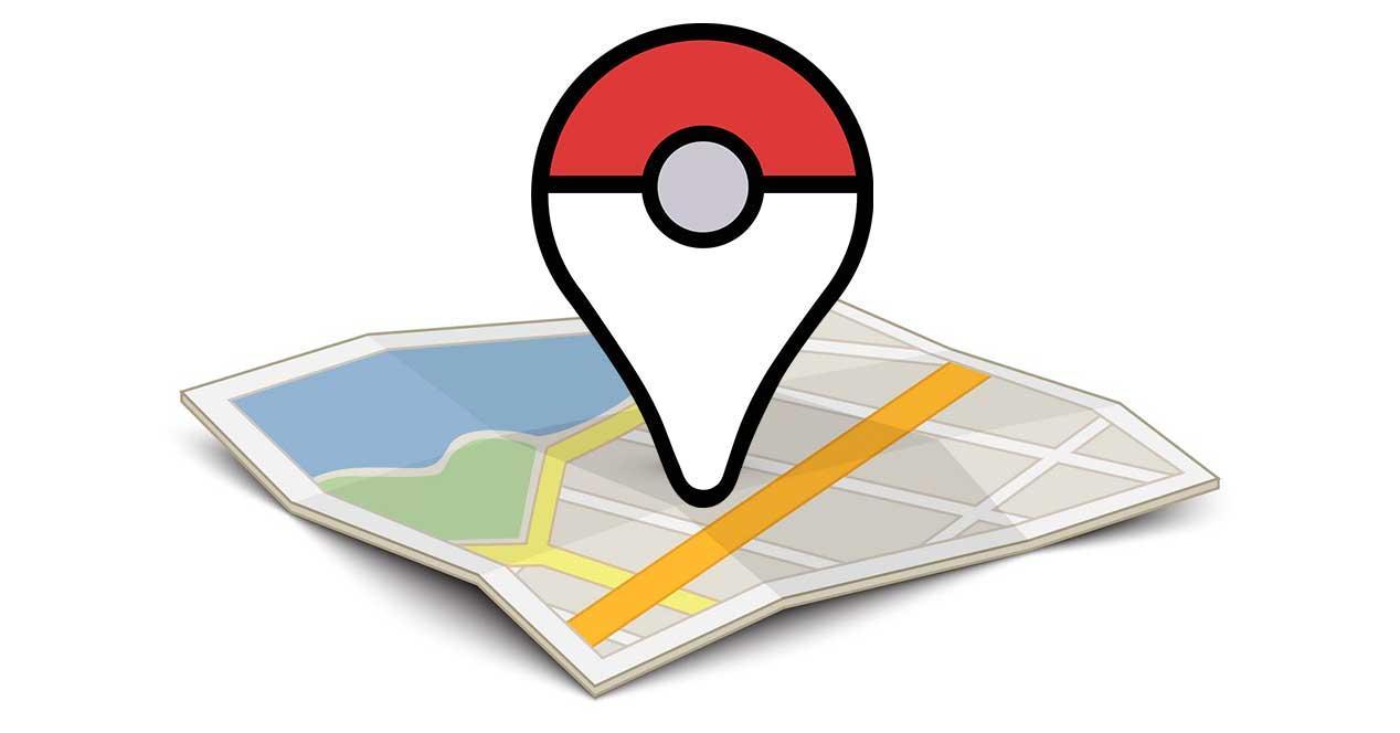 icono de Pokemon Plus sobre mapa