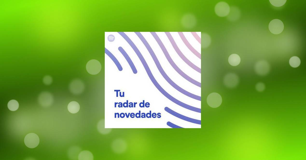 Spotify radar de novedades