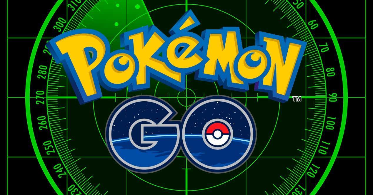 logo de pokémon go con objetivo francotirador