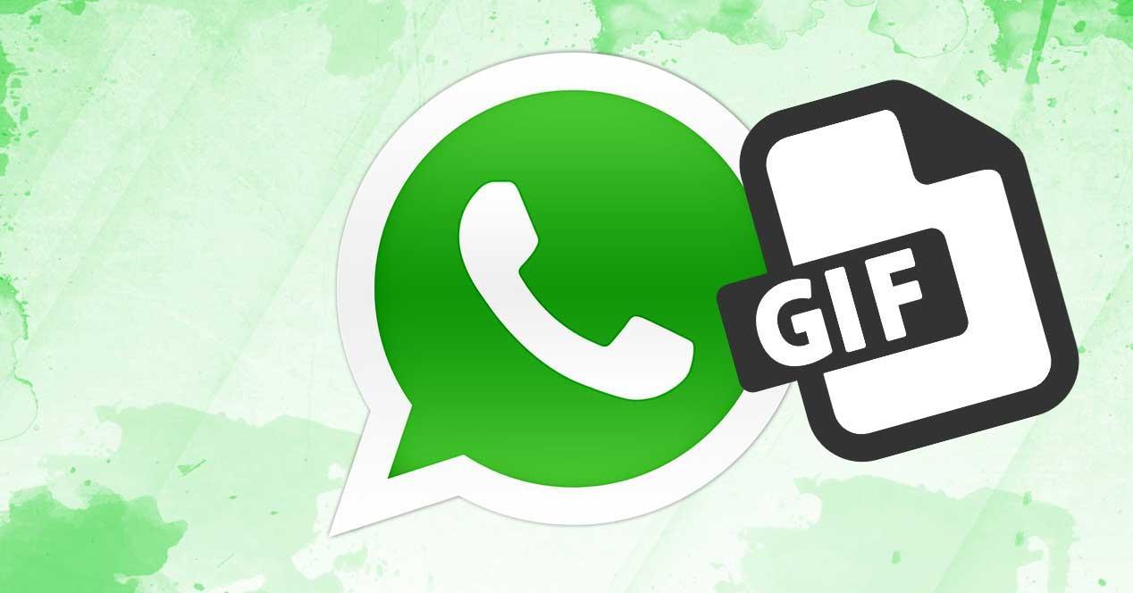Compartir GIF en WhatsApp