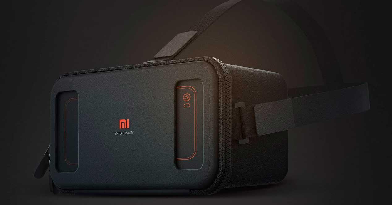 Xiaomi Mi VR de color ngro
