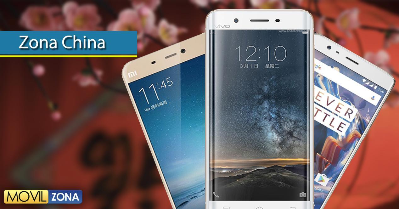 Zona china, móviles chinos