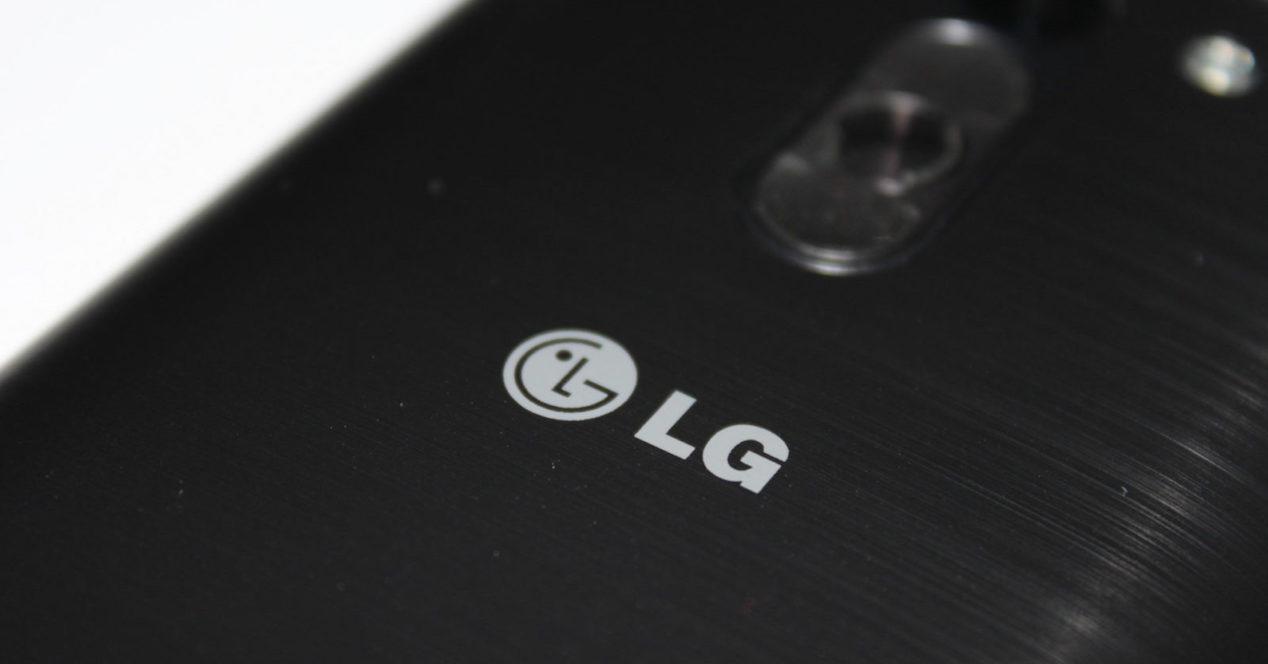 logo lg en smartphone