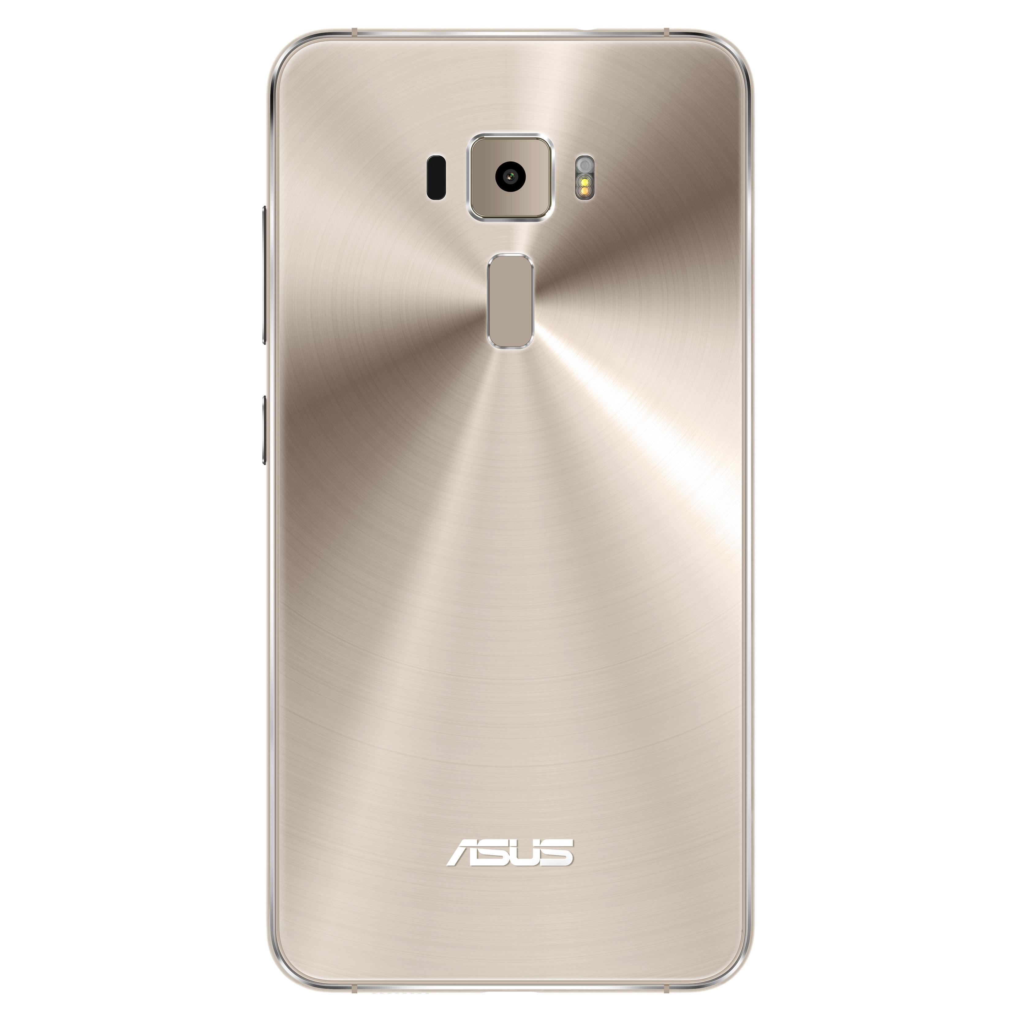 Asus Zenfone 3 color oro vista trasera