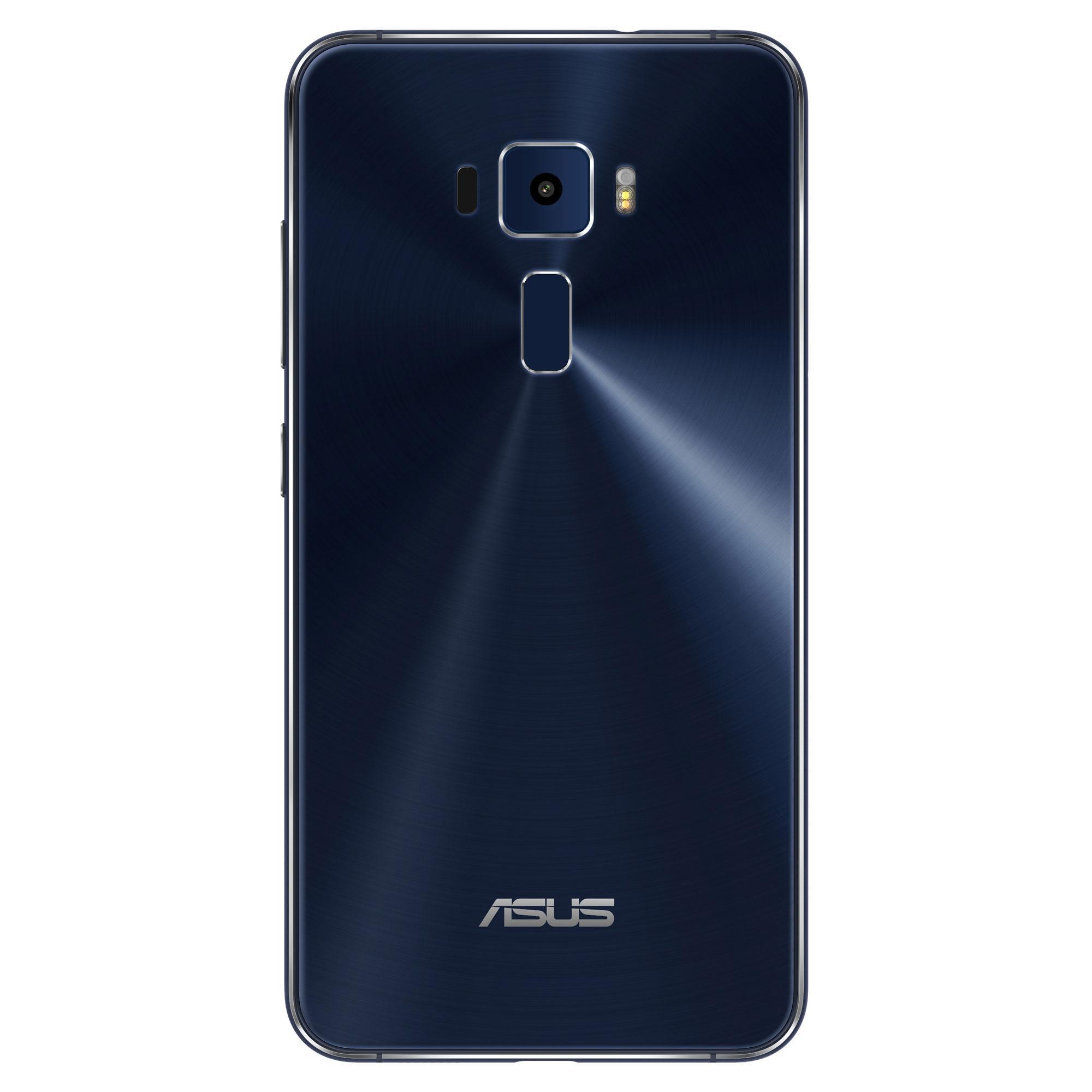 Asus Zenfone 3 azul detalle de la cámara